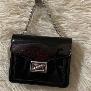 Black purse.